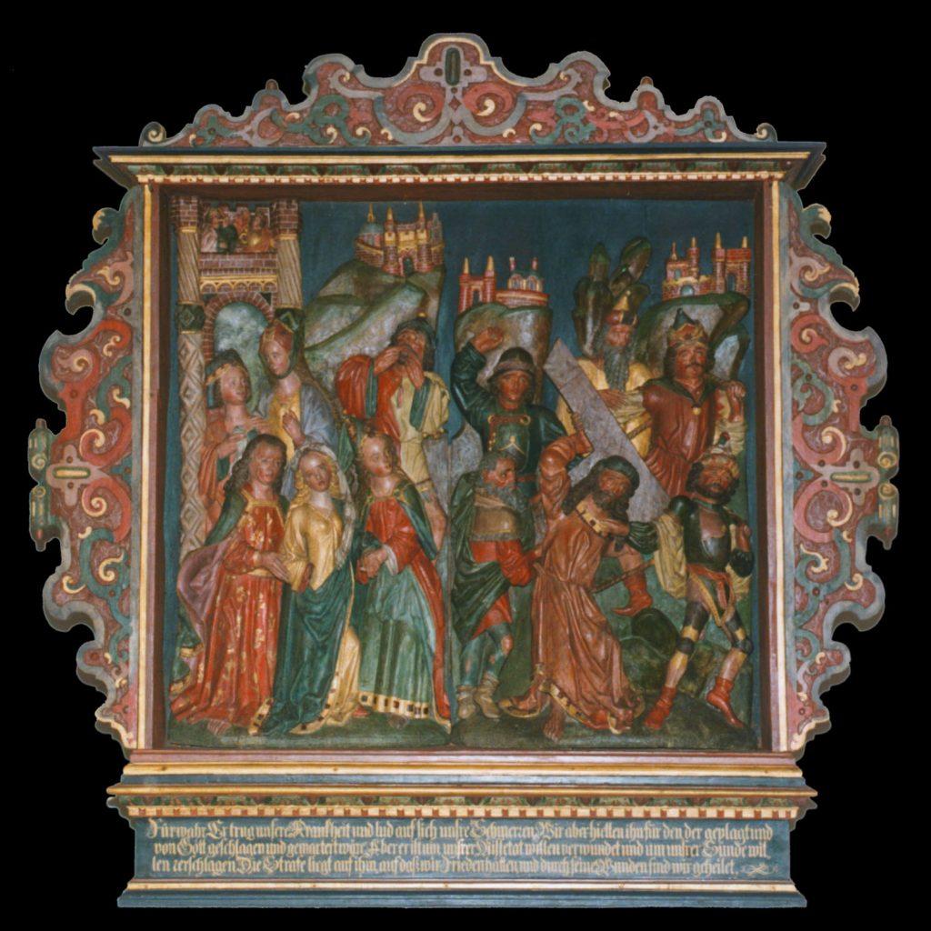Dorfkirche Bandekow, Altar (Endzustand)