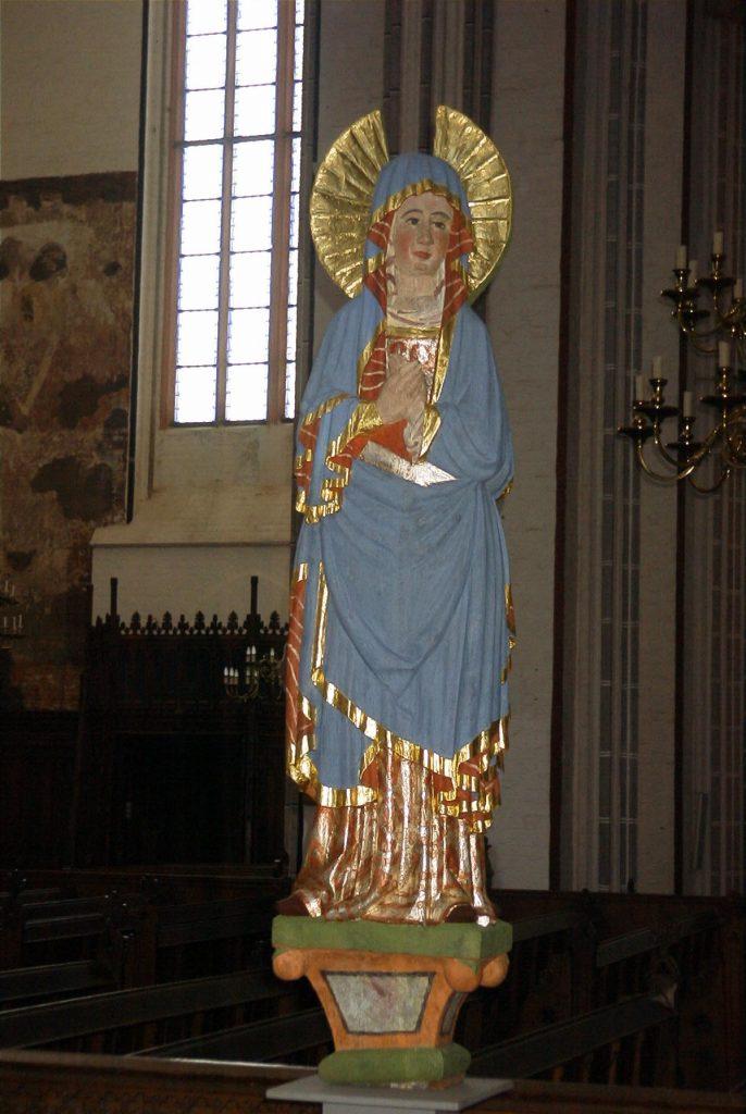 Dom Schwerin, Maria-Figur der Triumphkreuzgruppe