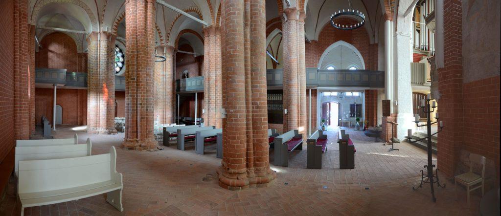 Hauptschiff der Stadtkirche zu Gadebusch