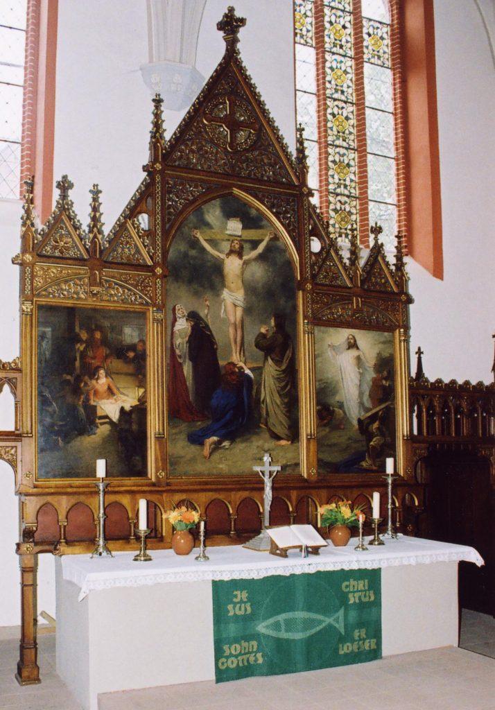 Kirche Grabow, Altar