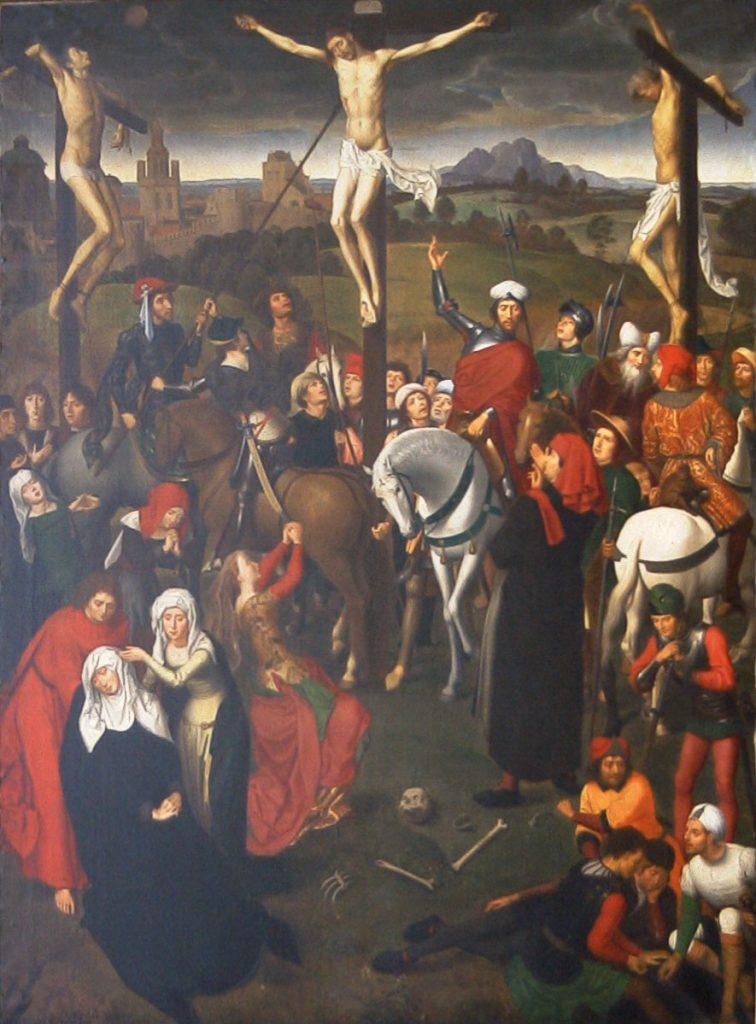 Kirche Grabow, Kreuzigung nach Hans Memling
