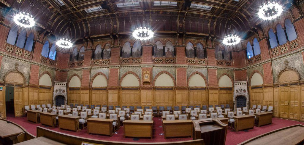 Bürgerschaftssaal des Lübecker Rathauses