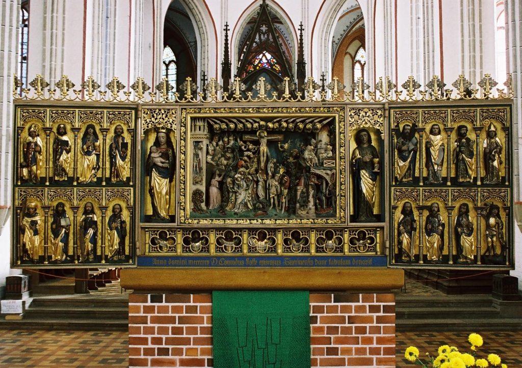 Dom zu Schwerin, Lostealtar